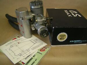 O.S. MAX 108F SR BX-1 engine, w/mount & pitts muffler, BENCH RUN ONCE SEE PICS