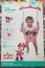 Disney Baby Door Jumper - Minnie Mouse Bright Starts: Pink Soft New In Box