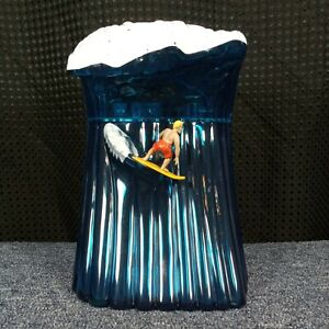 Surfs Up, Original Wave, Beach Boys Musical Surfing Cookie Jar With Sounds