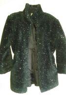 Black Sparkle Winter Jacket Girls Medium