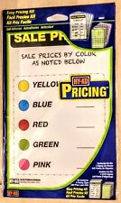 Hy Ko Yardgarage Sale Easy Pricing Label Kit 450 Labels And 4 Price Signsnew