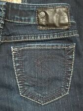SILVER Stevie womens jeans - size - 24 x 31 - GREAT condition