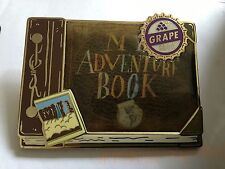 Disney Shopping MY ADVENTURE BOOK Grape Soda Ellie Pixar Up LE 125 Pin