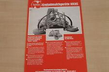 177171) Humus Kreiselmulcher HKNS Prospekt 08/1983
