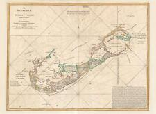 1794 Lempiere Map of Bermuda