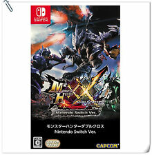SWITCH Monster Hunter XX Nintendo Switch Ver Capcom Action RPG Games