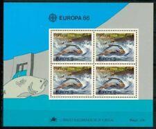 Portugal 1986 SG MS2045 Bloc Feuillet 100% Europe CEPT **