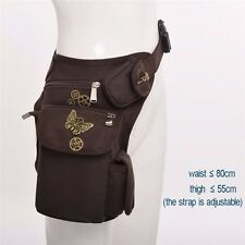 Victorian Punk Vintage Waist Bag Knight Leg Hip Packs Purse Rock Belt Bag Gift