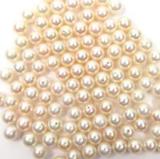 Granos de 10 AAA 4.5-5mm Rosa//Perla de lavanda redonda suelta perlas de agua dulce