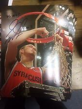 "Gerry McNamara Signed Syracuse ""2006 Big East MVP"" Cutting The Nets 8x10 Photo"