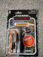 Star Wars: The Mandalorian: Retro Collection Action Figure: Mandalorian - Kenner