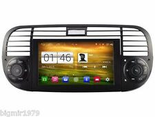 "6.2"" Android 4.4 Car DVD Player GPS Radio  Navi for Fiat 500 2007-2015 black"