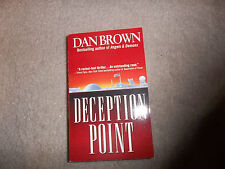 Dan Brown 2 novels Deception Point and Angels and Demons