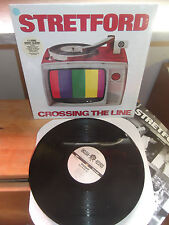 "Stretford ""Crossing The Line"" LP UNCLEAN USA 1995 - INSERT"