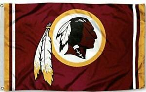Redskins FLAG 3X5 Washington Banner American Football New Fast USA Shipping