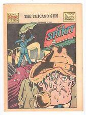 THE SPIRIT weekly newspaper comic Chicago Sun Sunday Sept 19 1943 vintage comic