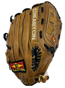 """EASTON NATURAL SERIES Tanned Leather Right Glove 11 1/2"""". PATTERN NAT 10 V.R.S.!"""