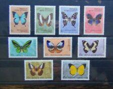 Papua New Guinea 1966 Butterflies to 25c MM