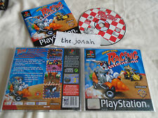 Looney Tunes Racing PS1 (COMPLETE) bugs bunny Sony PlayStation black label