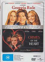 GEORGIA RULE / CRIMES OF THE HEART - DIANE KEATON COMEDY NEW DVD MOVIE SEALED