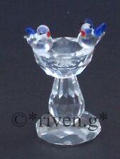 Corte De Pájaro BATH@AUSTRIAN CRYSTAL@Glass Feathers@Unique Set@DRINKS Regalo de Amor Aves