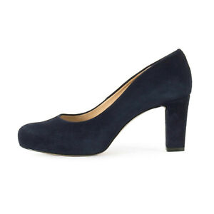 UNISA Damen Leder Pumps Numis Classic Ocean Blau / 39 (38.5) / High Heels
