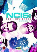 NCIS LOS ANGELES Stagione 7 Serie Completa BOX 6 DVD in Inglese NEW .cp