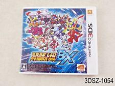Super Robot Taisen BX Nintendo 3DS Japanese Import JP Japan Wars US Seller A