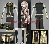 VOCALOID Megurine Luka Cosplay Costume Custom Any Size