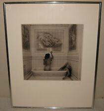 "! ORIGINAL STEPHEN BRIGIDI ""JOHN BROWN HOUSE 1"" PHOTO -NUDE WOMEN SILVER GELATIN"