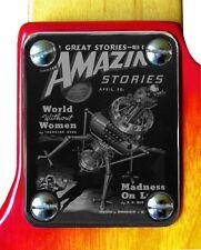 Neck Plate Neckplate Chrome Fender Strat Tele P J Bass Guitar Madness on Luna