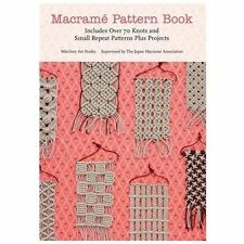 Macrame Pattern Book by Marchen Art Studio NEW 70 Knots & Patterns for Projects