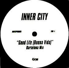 "12"" - Inner City - Good Life (Buena Vida) Barcelona Mix (HOUSE) VG++ LISTEN*OYE"