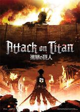 Attack on Titan Title Key Art Fabric Poster Wall Art GE79073 *NEW*