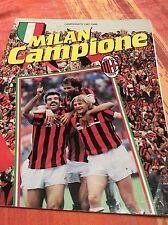 LIBRO CALCIO MILAN CAMPIONE D' ITALIA - SCUDETTO CAMPIONATO 1987/88