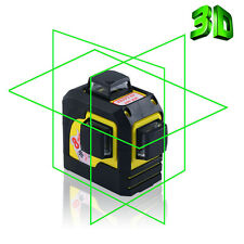 3D Green Laser Level Self Leveling 12 Lines 360 Degree Horizontal&Vertical Cross
