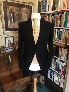 Boyd Cooper 1928 Bespoke Black Morning Coat