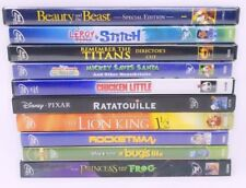 Disney DVD Movie Lot of 10 -Classics Chicken Little, Beauty And The Beast,Lion