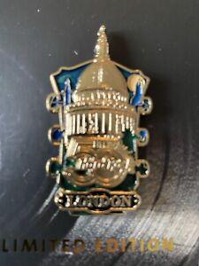 Hard Rock Hotel London / Oxford Street Cafe 50th Anniversary Headstock Pin Badge