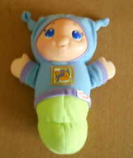 Playskool Blue Lullaby Gloworm 2005 Hasbro Musical Night Light Glow