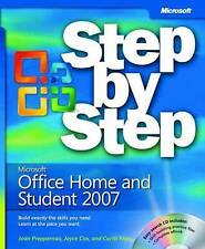Microsoft® Office Home and Student 2007 Step by Step (BPG-step by Step), Online