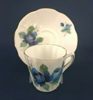 Mid-Century Modern Royal Dover bone china cup & saucer c.1955+