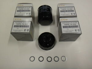 Genuine Mazda with SKYACTIV®  Oil Filter Pack of 5 with wrench and  5 washers