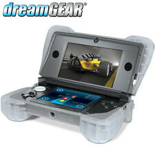 Silicone Cover Comfort Grip Nintendo 3DS Case Padded Protector Clear DG3DS-4218
