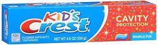Crest Toothpaste Kids Cavity Protection Sparkle Fun Flavor 4.60 oz