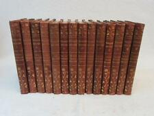 JOHN T. STODDARD'S LECTURES 14 VOLUMES 1905 3/4 Leather