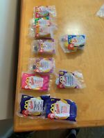 6 Barbie McDonald's Happy Meal Toys, Various Years K18
