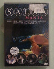 SALSA MANIA celia cruz / tito puente / marc anthony DVD NEW