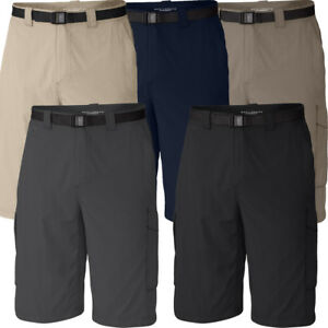 "New Mens Columbia ""Silver Ridge"" Cargo Shorts Omni-Wick Omni-Shade Ins. 10""/12"""