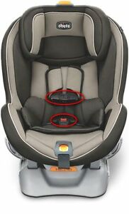 Chicco NextFit Baby Car Seat Harness Chest Clip & Buckle Set Vehicle Safety Kids